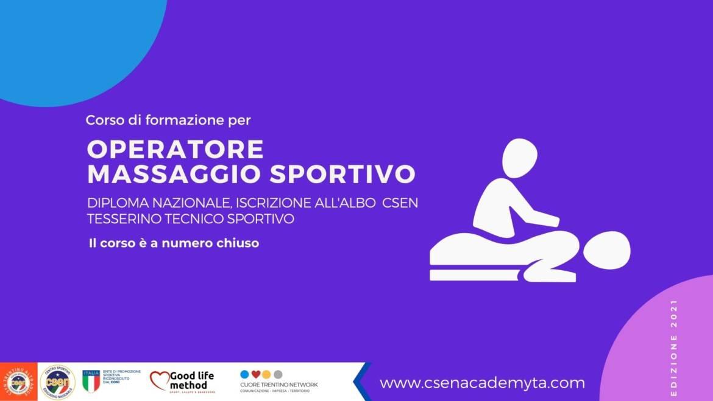 Operatore Massaggio Sportivo